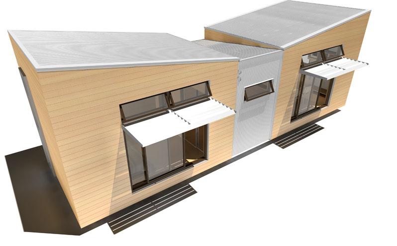 minihome la maison colo transportable. Black Bedroom Furniture Sets. Home Design Ideas