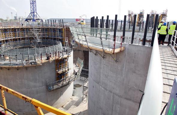 Avancement des travaux pour le pont levant bordeaux - Le pont levant de bordeaux ...