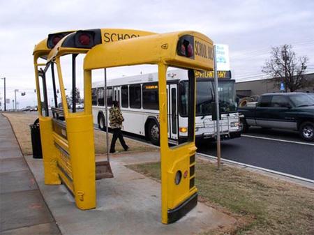schoolbus busstop