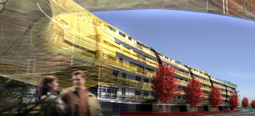 Le Fort d'Issy les Moulineaux, @AS Architecture Studio