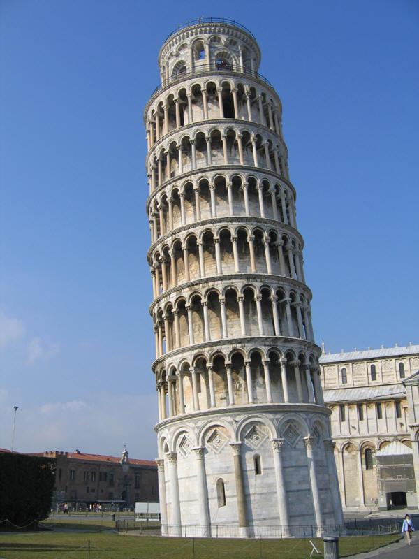 Tour de pise - Date de construction de la tour de pise ...