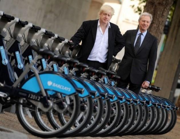 Vélo-Londres-libre-service