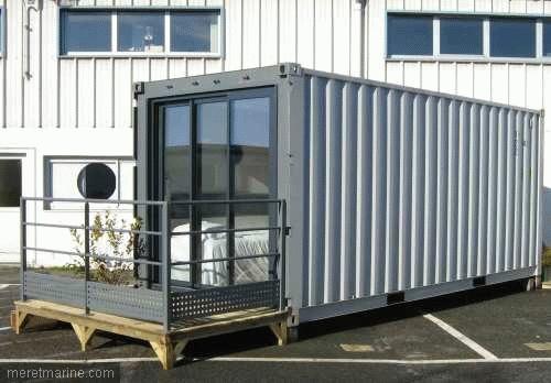 Stx france cabins des paquebots la ville for Amenagement conteneur maritime