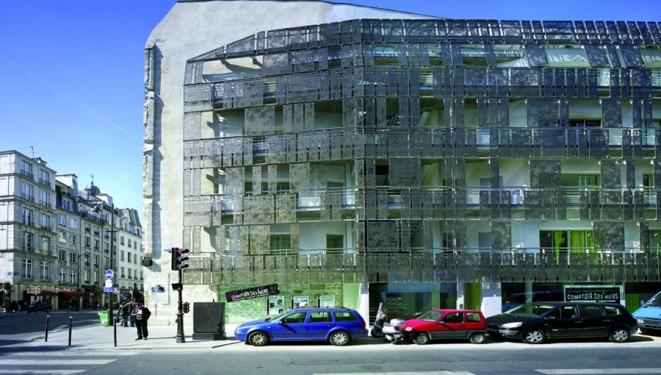 Yves MARCHAND et Romain MEFFRE Programme de onze logements sociaux de la Siemp par Karine Chartier etThomas Corbasson à Paris IVe.
