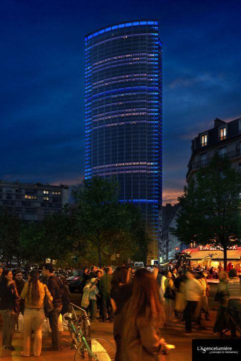 La tour montparnasse s 39 illuminera d s 2011 for Piscine montparnasse