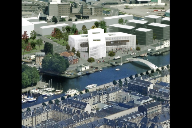 Bibliothèque Multimédia à vocation régionale - Caen (OMA)