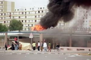 Les émeutes de Vaulx-en-Velin le 7 octobre 1990