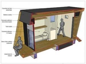 des habitats alternatifs pour sans abris urbanews. Black Bedroom Furniture Sets. Home Design Ideas