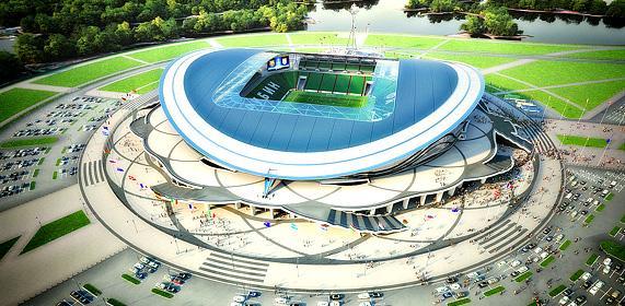 D couvrez les stades russes de la coupe du monde 2018 urbanews - Stade coupe du monde 2022 ...