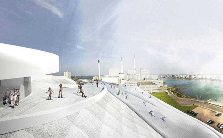 L'agence d'architecture BIG combine usine et piste de ski dans sa nouvelle réalisation