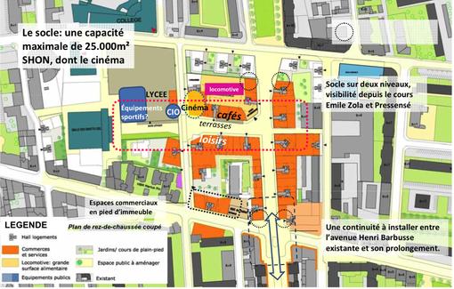 La zac gratte ciel nord sur les rails urbanews for Garage du tram villeurbanne