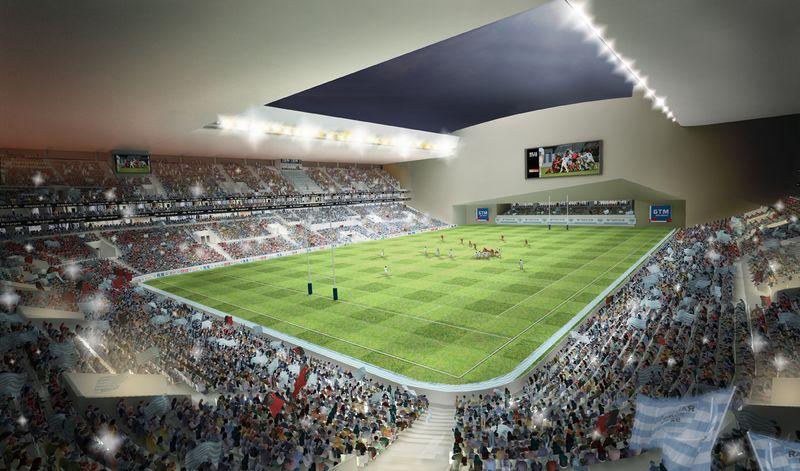L'Arena 92 par Christian de Portzamparc