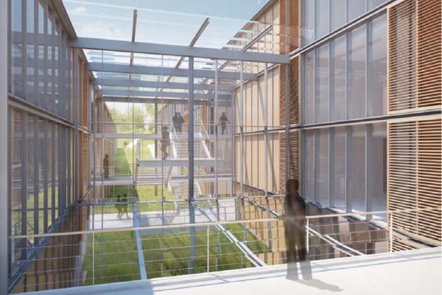 Renzo piano pour la citadelle d 39 amiens - Architecte d interieur amiens ...