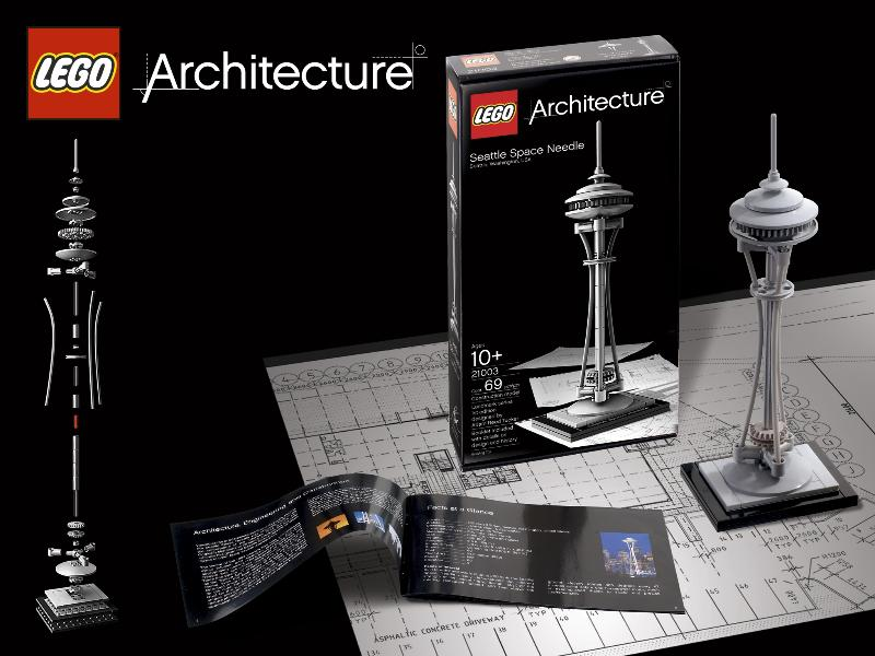 LEGO-Architecture-seattle-space-needle