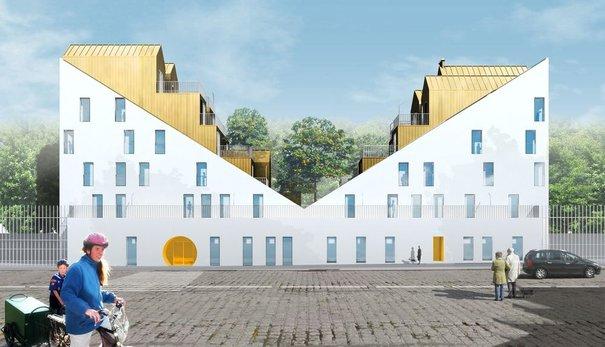 Hlm la nouvelle vague urbanews - Les terrasses en ville ...