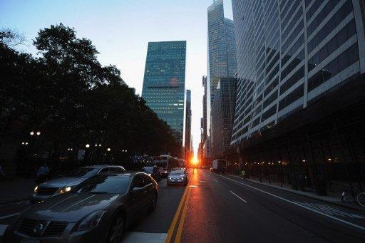 Manhattanhege - Manhattan - New-York 12 juillet 2011 AFP/Getty Images, Michael Loccisano)