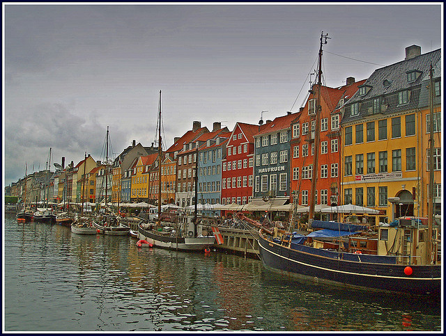 "Copenhague - Une ville ""vélo-friendly"" © Ayiya Flickr"