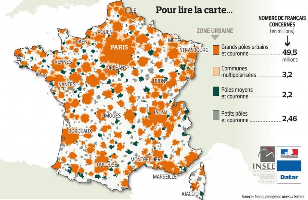 Villes En France Taux D Urbanisation