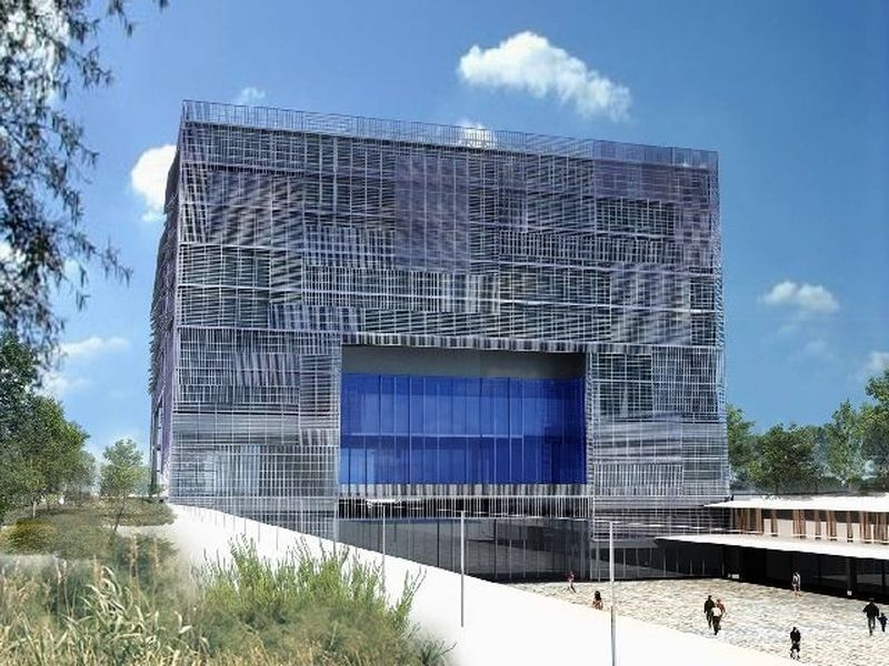 Montpellier inaugure son nouvel h tel de ville urbanews for Piscine de montpellier