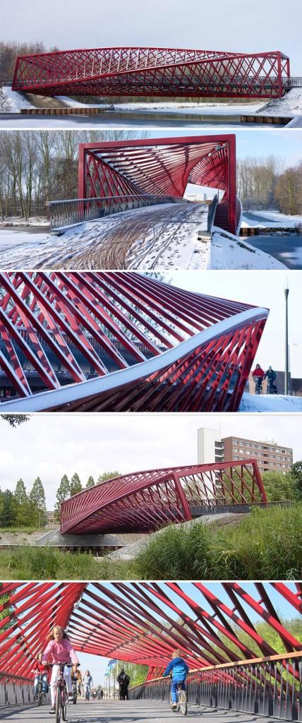 The Twist Bridge - West 8 Urban Design & Landscape Architecture