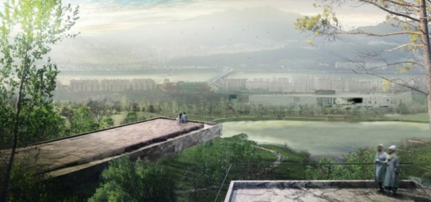 Panorama parc Yongsan