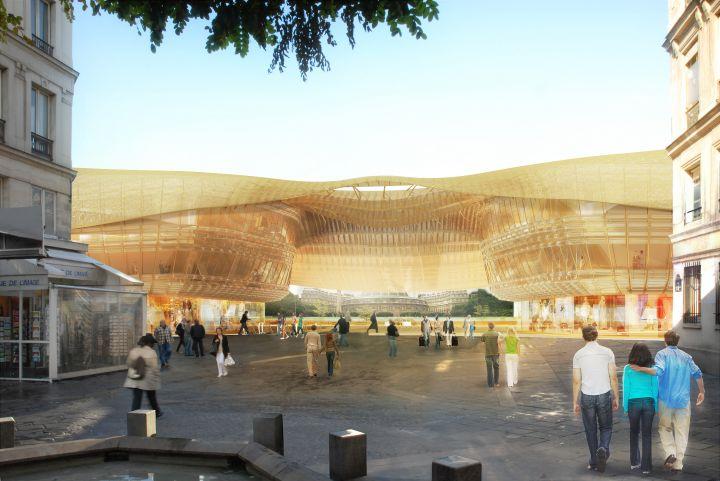 La mairie de Paris n'a toujours pas bouclé le nouvel avenant qui doit permettre de réduire la facture de la Canopée, le futur toit des Halles, comme le réclamait le tribunal administratif le 6 janvier.