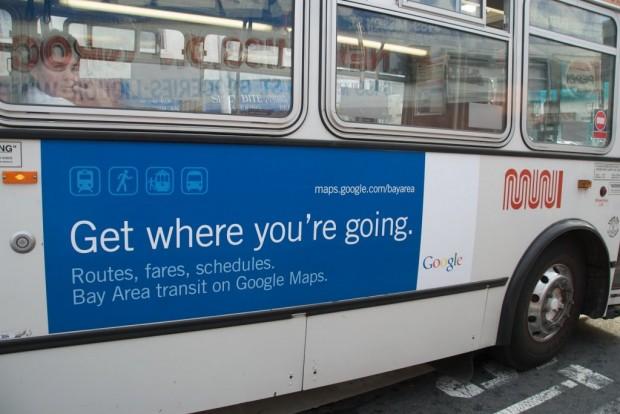 Pub pour Google Transit