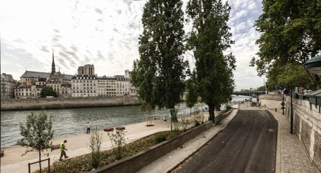 Berges de Seine - Rive Droite - F. Grunberg / Mairie de Paris