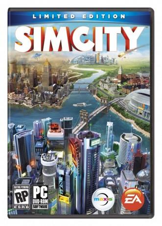 La jaquette du nouvel opus de SimCity, disponible à partir du 7 mars 2013.