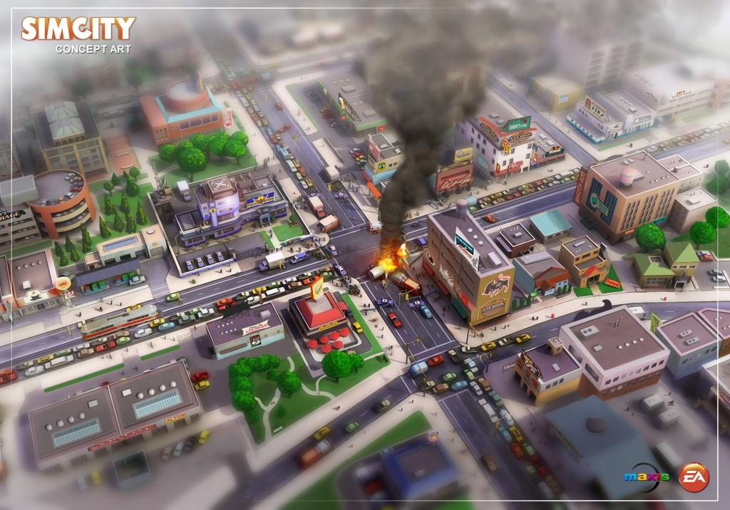 SimCity 2013.
