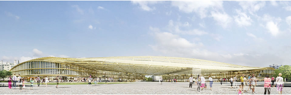 La Canopée des Halles - Patrick Berger
