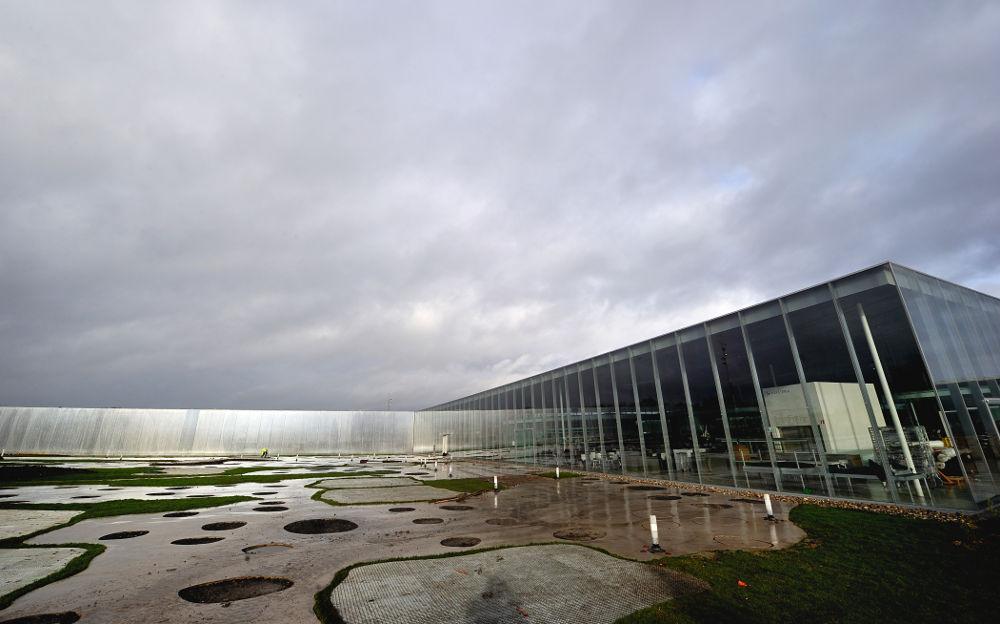 Le musée du Louvre à Lens, le 3 décembre 2012.