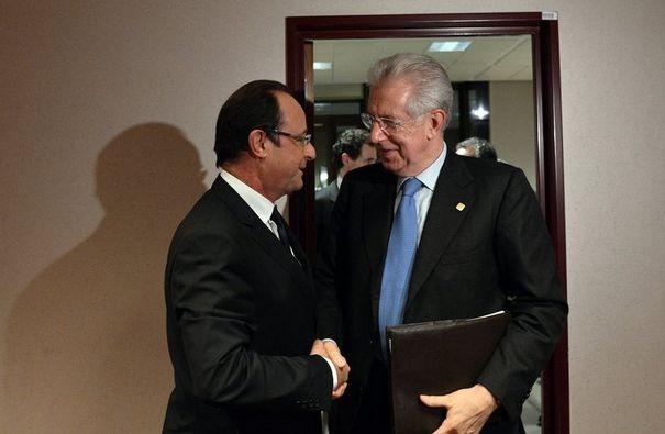 François Hollande et Mario Monti, dont les relations sont au beau fixe, se retrouvent pour un sommet franco-italien lundi à Lyon où ils devraient réaffirmer leur volonté de donner corps à l'emblématique projet de liaison ferroviaire à grande vitesse Lyon-Turin.
