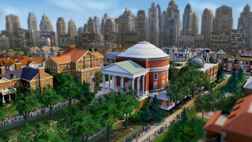 L'université dans SimCity.