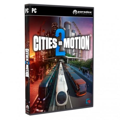 Jaquette du jeux Cities in Motion 2 : les Temps Modernes, annoncé pour le deuxième trimestre 2013.