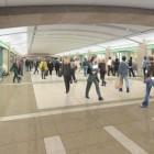 Passage souterrain et boutiques