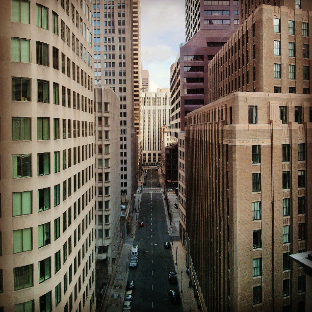 Les rues de Boston étaient vides le 19 avril.