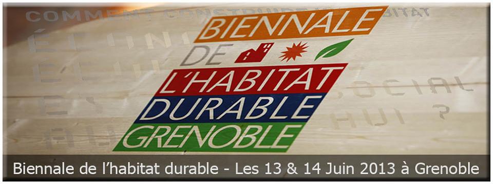 Biennale de l'habitat durable de la Ville de Grenoble