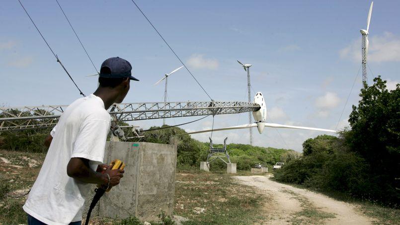 Centrales eoliennes Vergnet en Guadeloupe