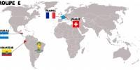 Mondial 2014 : petite géographie des adversaires de la France