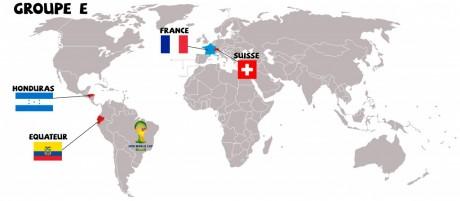 La poule E de la FIFA World Cup 2014 au Brésil
