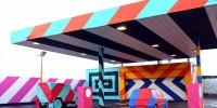 Nouveau look pour une nouvelle ville : la métamorphose des stations service abandonnées