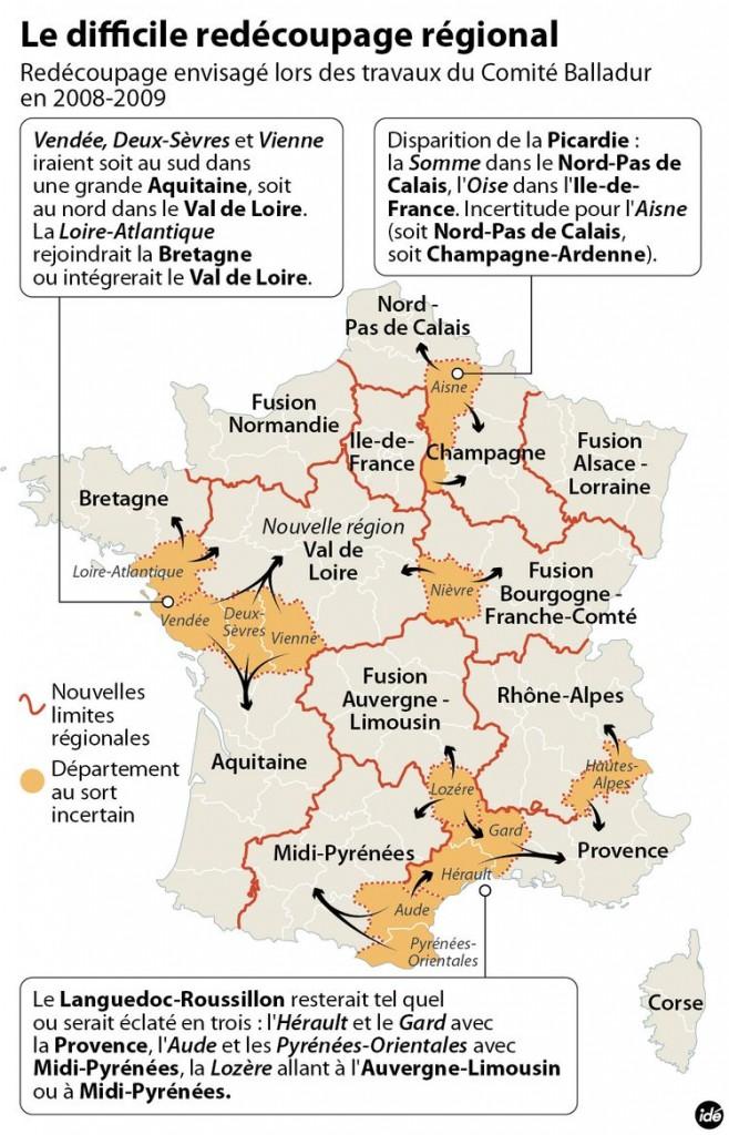 Redécoupage Régional