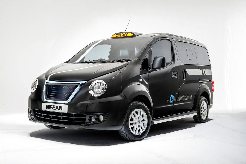 La version électrique du NV200 (crédits photo : Nissan)