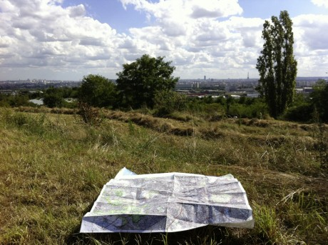 Paris vu de la butte d'Orgemont (Argenteuil). Crédit photo : Wildproject