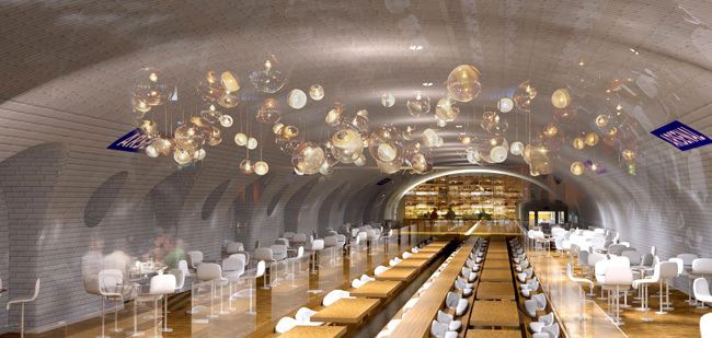 Un restaurant dans le Métro ? le pari fou de NKM