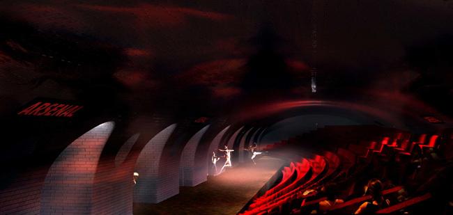 Une salle de concert dans le Métro Parisien ? - Proposition NKM - Manal Rachdi & Nicolas Laisné