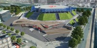 Bercy Arena, une future salle au niveau des standards internationaux et ouverte sur la ville