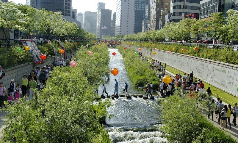 Séoul - Cheonggyecheon