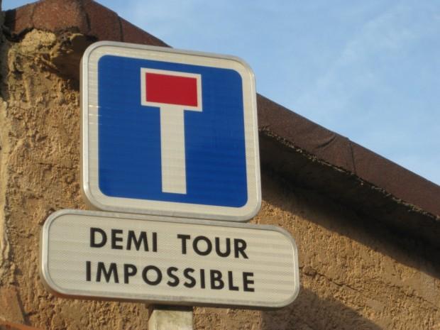 Demi-tour impossible